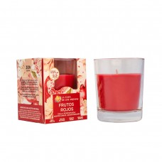 Scented candle in glass Red Berries 140g