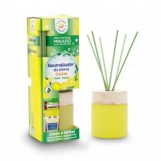 Antibacterial Neutral Toilet Reed Diffuser. LIMON & HERBA 100ML