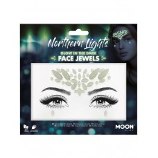 Moon Glow Face Jewels - Northern Lights
