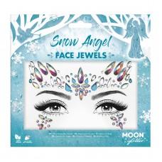 Moon Glitter Face Jewels - Snow Angel