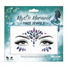 Moon Glitter Face Jewels, Mystic Mermaid