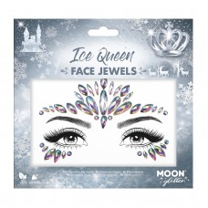 Moon Glitter Face Jewels - Ice Queen