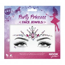Moon Glitter Face Jewels - Party Princess