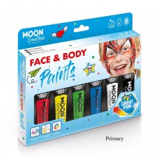 Face and Body paiting colors