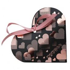 Heart box with lipsticks